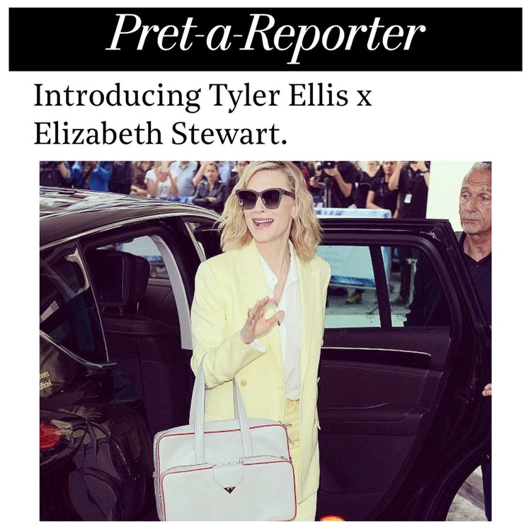 The Hollywood Reporter: Cate Blanchett Debuts Tyler Ellis at Cannes