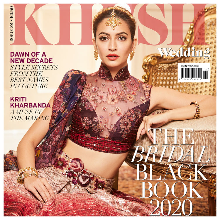 Khush Wedding Features Tyler Ellis in The Bridal Black Book of 2020!