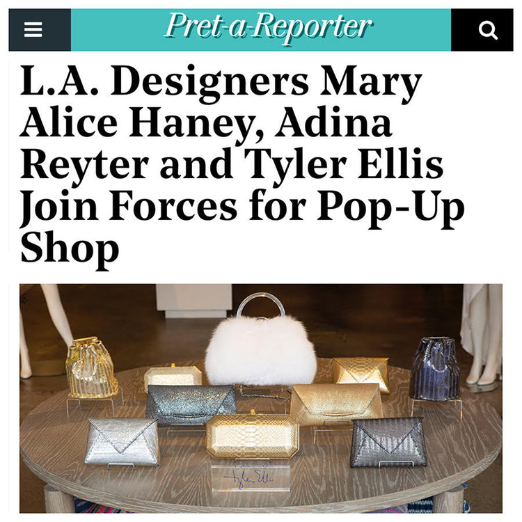 Hollywood Reporter: L.A. Designers Join Forces