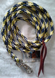 8ft Lead Rope with Bull Snap made with Tuff Tack Rope