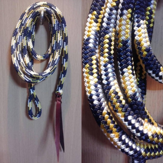 10ft Lead Rope - 12mm -with Loop - Choice of Colours - Made in Australia