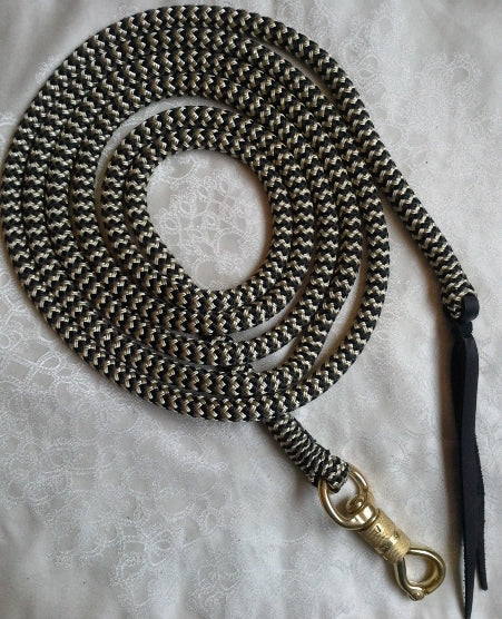 15ft Lead Rope- 12mm- with Brass Snap made in Australia