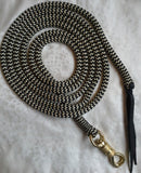 14ft Lead Rope - 12mm - Brass Swivel Snap - Made in Australia