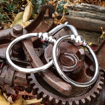 5 Inch #342 Ballhinge Ring Snaffle By Tom Balding