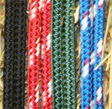 2 Noseband Knot Rope Halter- Professional Range 6mm- Made in Australia - Choice of Size/Colour