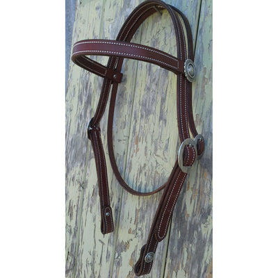 Antique Rope Bridle Headstall