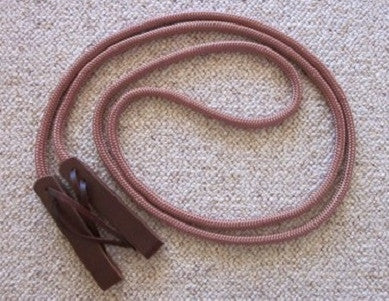 Loop Reins with Slobber Shaped Water Straps & Leathers