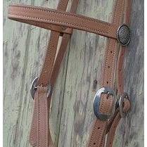 Natural Antique Bridle Headstall