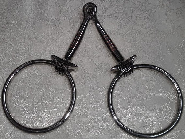 5 inch - Never Pinch Ring Snaffle by Jeremiah Watt