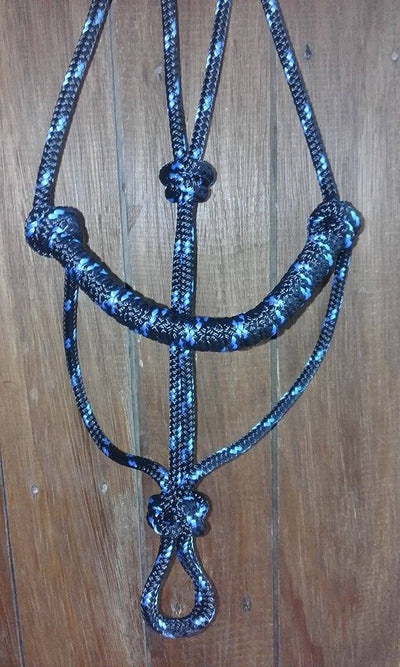 Rope Halter with Rolled Noseband
