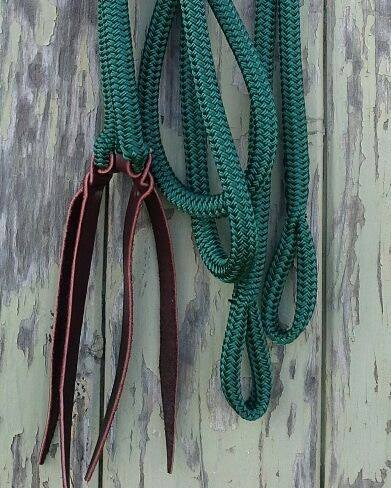 Split Reins with LOOP ends <br>made with Tuff Tack Rope (AUS)