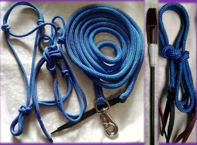 Basic Kit for Children<br>Halter, 10ft Lead, Stick & String.