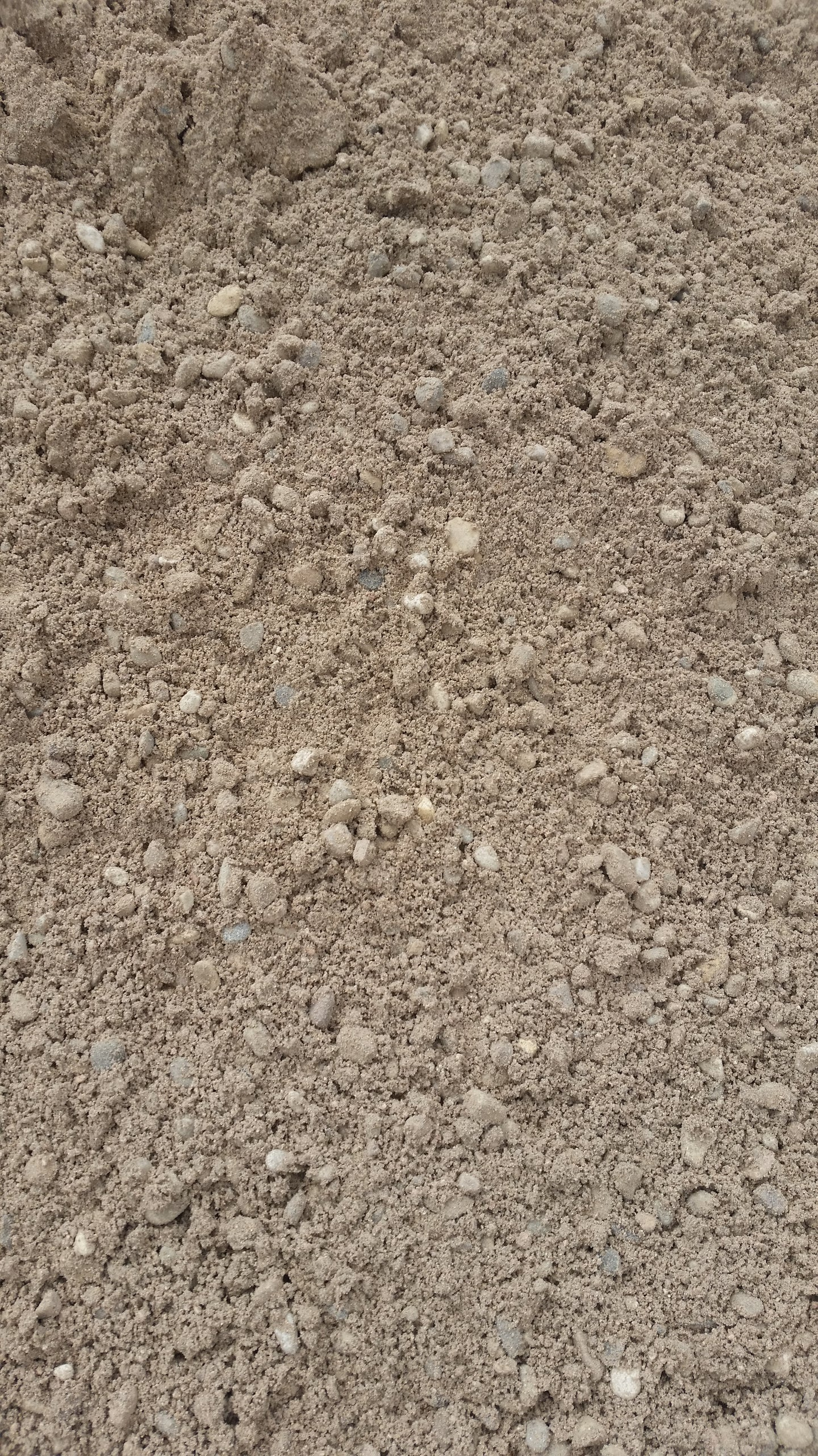 CONCRETE ROCK/SAND MIX