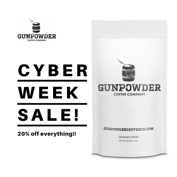 Cyber Week Deals - 20% off Gunpowder!