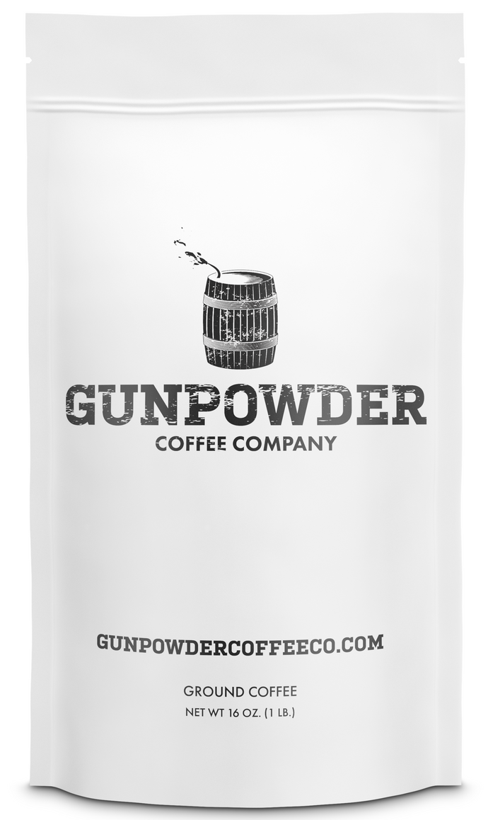 Gunpowder Coffee, World's Most Caffeinated Coffee - Ground Coffee