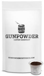Gunpowder Coffee Cups - The World's Most Caffeinated Single Serve Coffee (K-Cup Style)