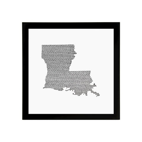 Louisiana State Art Print