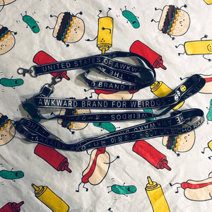 Lanyard: Awkwardidas - The Awkward Brand for Weirdos