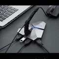 LED USB Hub Splitter/Adapter
