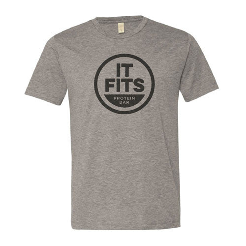 It Fits Shirt Sleeve Unisex tee shirt (Grey)