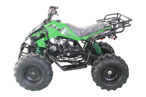 Cougar Cycle JET-9 125cc ATV, Single Sylinder, 4 Stroke, OHC Sport ATV Free Shipping