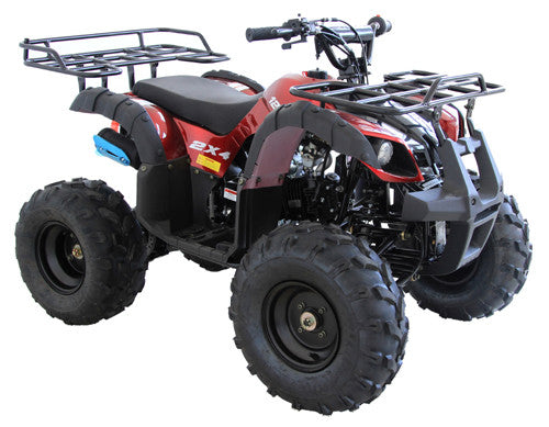 Cougar Cycle RIDER-9 125cc ATV, Single Sylinder, 4 Stroke, Air-Cooled with Reverse Free Shipping
