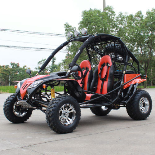 JAGUAR-200 (169cc) DELUXE Go Kart, Single-Cylinder, 4-Stroke, Horizontal Type, Air-Cooled Dune Buggy Free Shipping