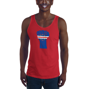 RAISED FIST 'CABO VERDE' — Men's Premium Tank Top