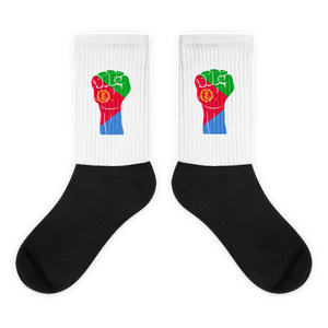 RAISED FIST 'ERITREA' — Cushioned Socks