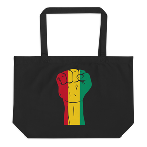RAISED FIST 'GUINEA' — Organic Tote Bag