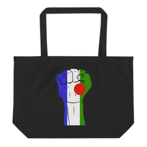 RAISED FIST 'BATWA' — Organic Tote Bag