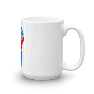 RAISED FIST 'DRC' — Coffee Mug