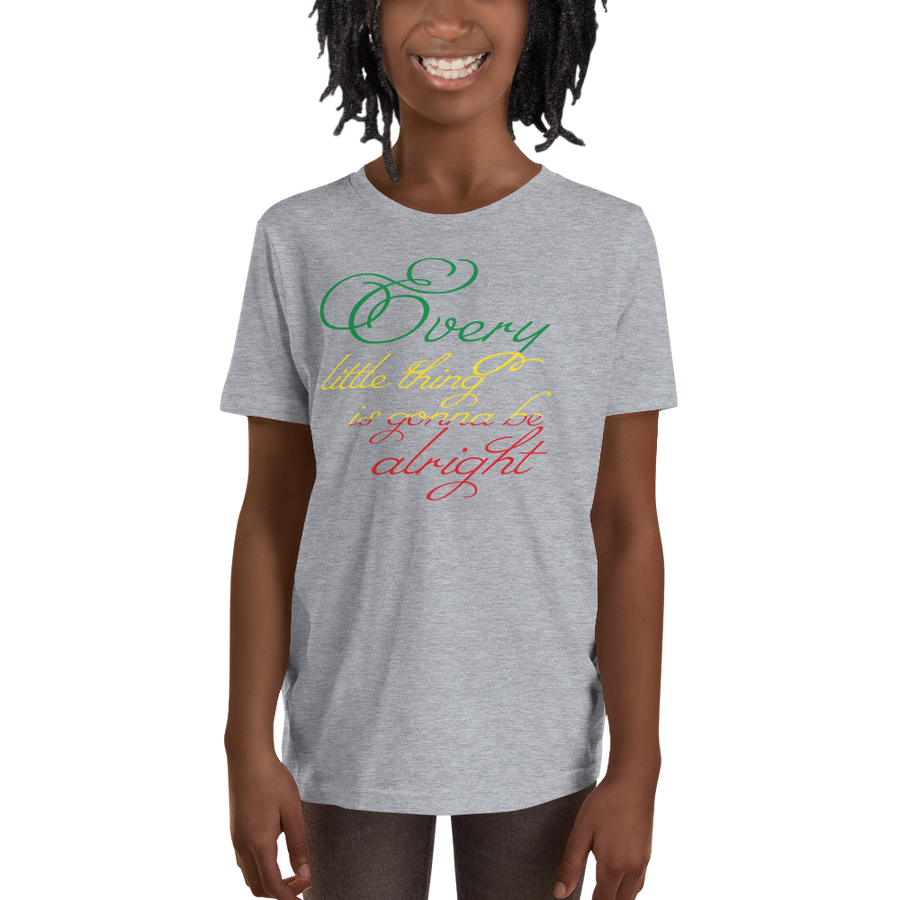 EVERY LITTLE THING (RASTA) — Short-sleeved Youth T-shirt