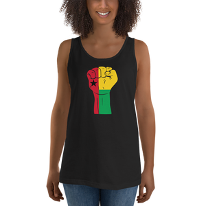 RAISED FIST 'GUINEA-BISSAU' — Women's Premium Tank Top