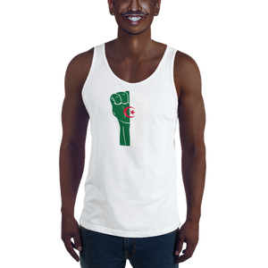 RAISED FIST 'ALGERIA' — Men's Premium Tank Top