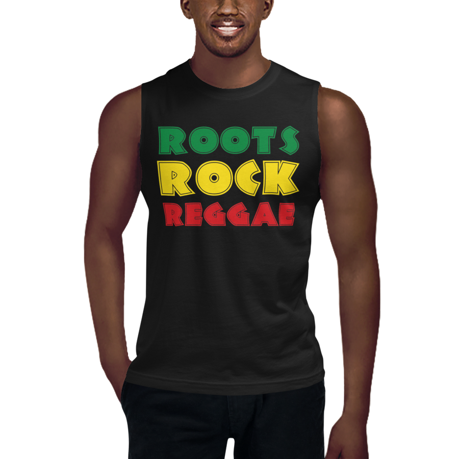 ROOTS ROCK REGGAE (RASTA) — Men's Muscle Shirt