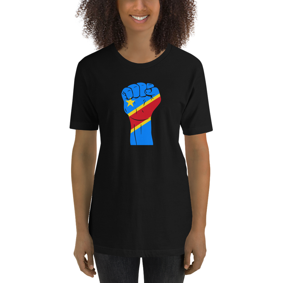 RAISED FIST 'DRC' — Women's Premium T-shirt