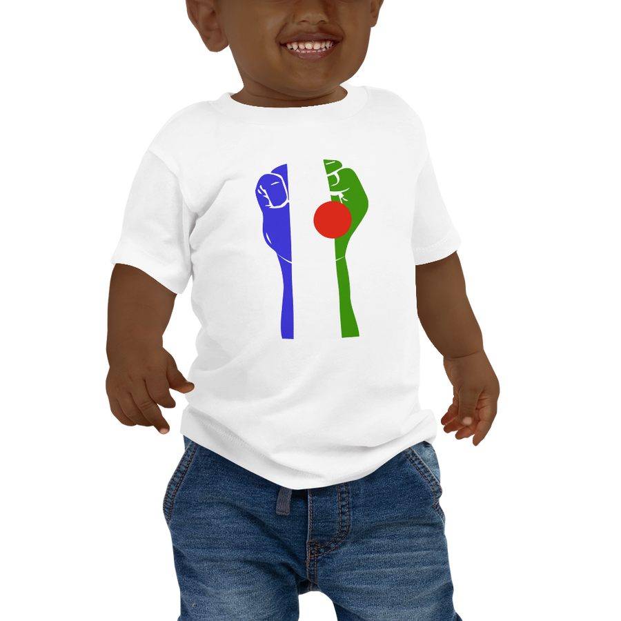 RAISED FIST 'BATWA' — Short-sleeved Baby T-shirt