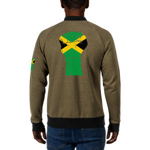 RAISED FIST 'JAMAICA' — Men's Bomber Jacket
