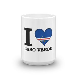 I ❤ CABO VERDE (BLACK) — Coffee Mug