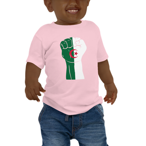 RAISED FIST 'ALGERIA' — Short-sleeved Baby T-shirt