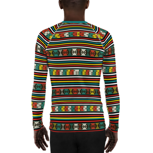 AKWETE 'ATO' — Hand-sewn Men's Rash Guard