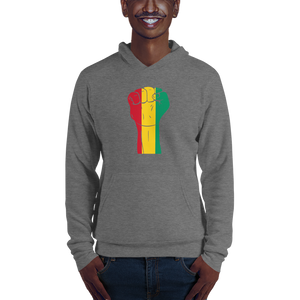 RAISED FIST 'GUINEA' — Men's Pullover Hoodie