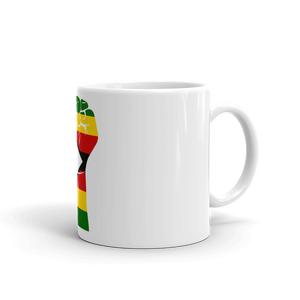 RAISED FIST 'ZIMBABWE' — Coffee Mug