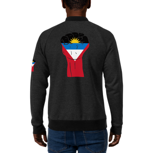 RAISED FIST 'ANTIGUA AND BARBUDA' — Men's Bomber Jacket