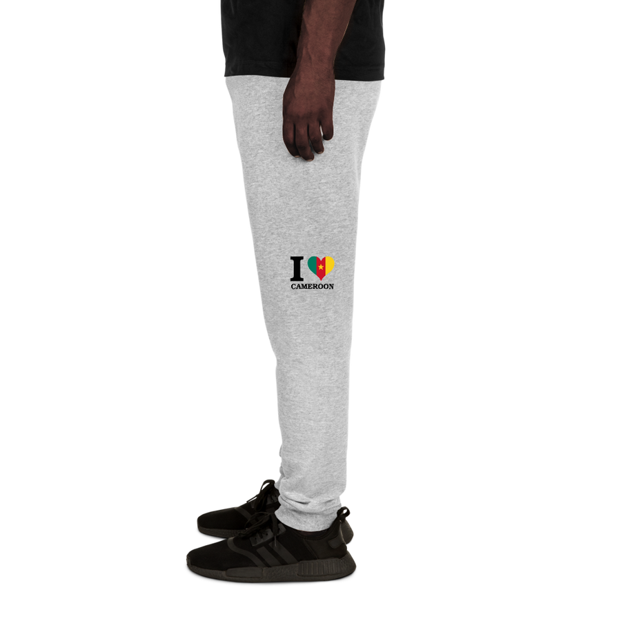 I ❤ CAMEROON (BLACK) — Men's Sweatpants