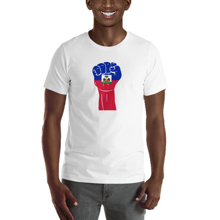 RAISED FIST 'HAITI' — Men's Premium T-shirt