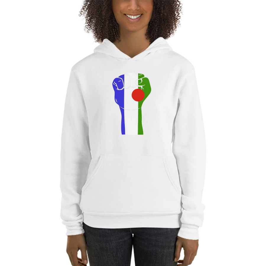 RAISED FIST 'BATWA' — Women's Pullover Hoodie