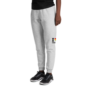 I ❤ GHANA (BLACK) — Women's Sweatpants