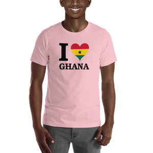 I ❤ GHANA (BLACK) — Men's Premium T-shirt